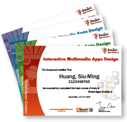 Interactive Multimedia Apps Design Certificate